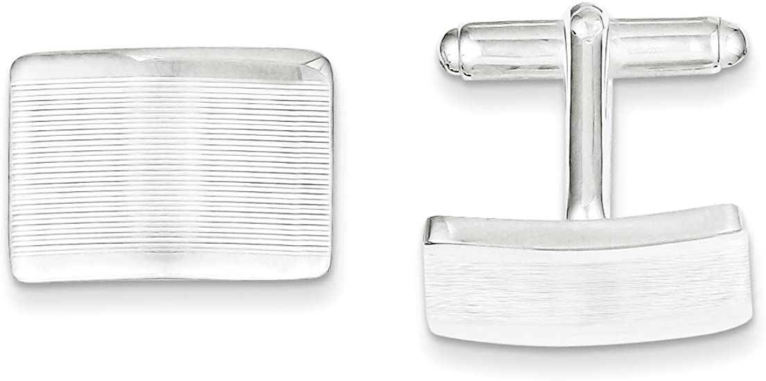 West Coast Jewelry Sterling Silver Cuff Links