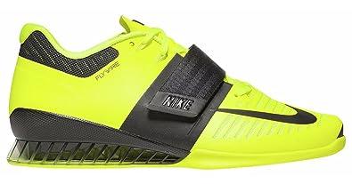 Nike Romaleos 3 III Volt Black Size 8.5