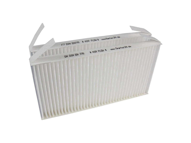 5 filtri sostitutivi G4/F7 compatibili con Zehnder Comfoair ComfoAir 70 527005190, confezione risparmio