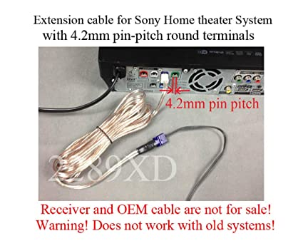 12ft speaker extension cable/wire/cord for Sony Home Theater systems on