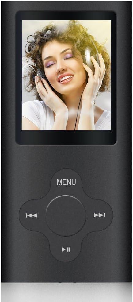 Reproductor MP3, ZEPST 8GB MP3 Player con Radio FM Pantalla DE 1,8