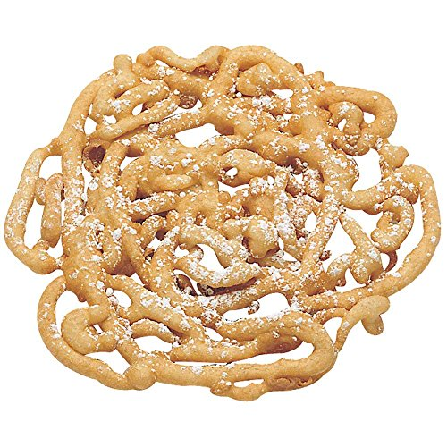 J And J Snack Cake Factory Funnel Cake    5 Inch  48 Per Case