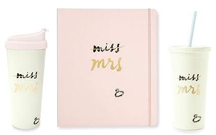 Kate Spade New York Miss to Mrs Set de regalo de novia ...