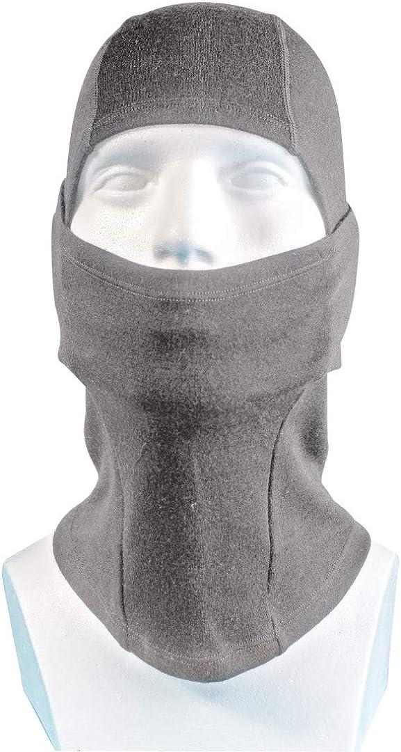 maschera da sci con un foro isolato unisex Passamontagna in lana nera