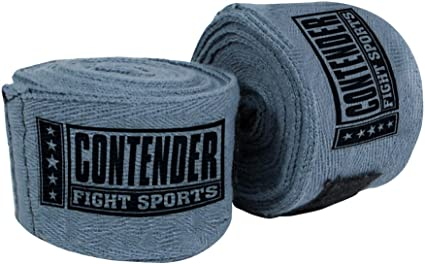 Contender Fight Sports Classic Weave Handwraps Grey CHW