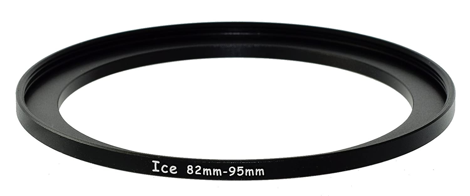 ICE 82mm to 95mm Step Up Ring Filter Lens Adapter 82 male 95 female Stepping