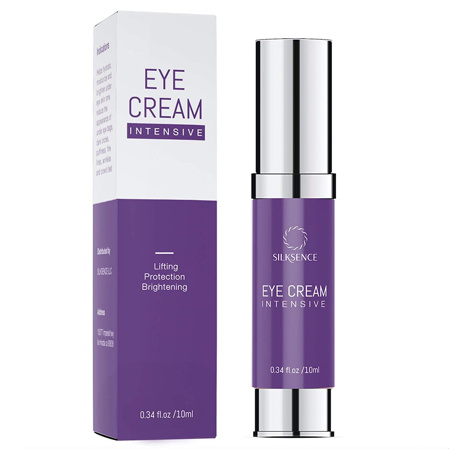 Anti-Aging Intensive Eye Cream - Rapid Repair, Visibly Reduced Wrinkles, Under Eye Bags, Puffiness & Dark Circles in 3 mins