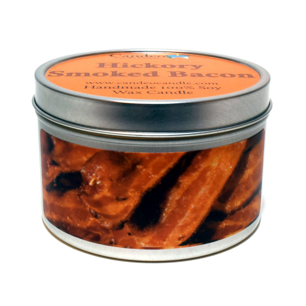 Hickory Smoked Bacon Super Scented Soy Candle Tin (6 oz)