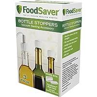 FoodSaver 3pc Bottle Stoppers