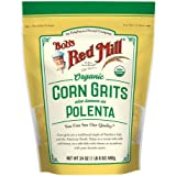 Bob's Red Mill Organic Corn Grits/ Polenta, 24 Oz
