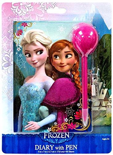 Disney Frozen Diary & Pen Set Anna & Elsa 8324FZ