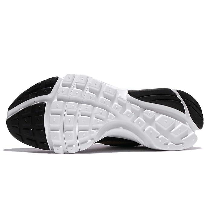 c0e37f026d Amazon.com | Nike Presto Fly (GS) Girls Fashion-Sneakers 913967-004_5Y -  Black/Metallic Gold-Tea Berry-White | Sandals