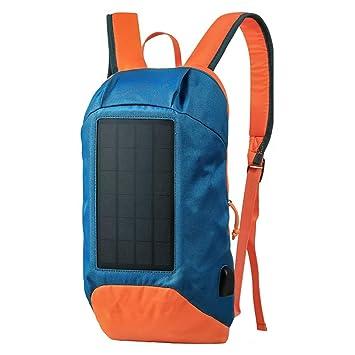 HBAOT Mochila de Senderismo 10l,con Cargador Solar para ...