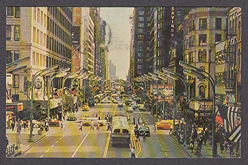 State Street Downtown Chicago IL postcard ()
