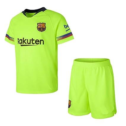 Kit - Personalizable - Segunda Equipación Replica Original FC Barcelona 2018/2019 (6 años