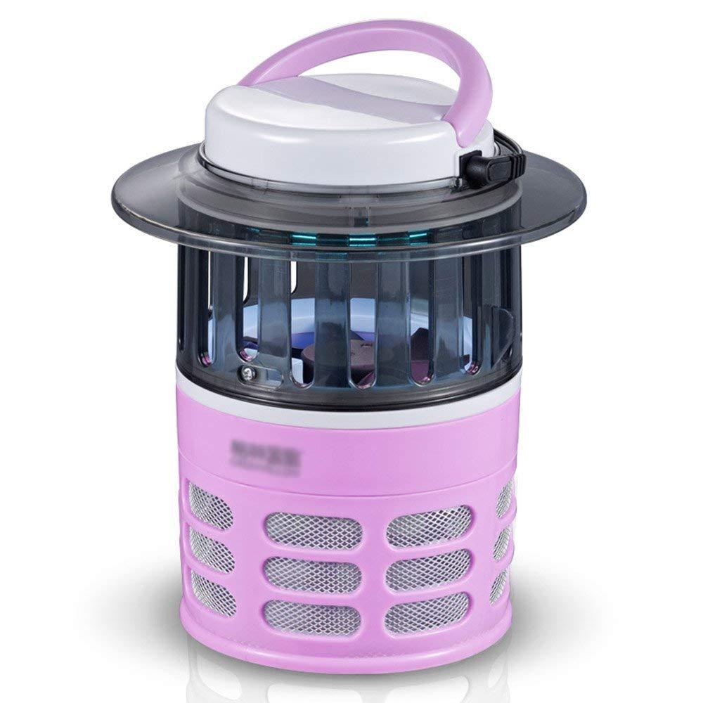 Fotocatalizzatore Anti-zanzara Controllo Repellente per zanzare rosa Nessuna radiazione 15 W Protezione Ambientale 16.6  19 cm Sano, innocuo per Le Donne Incinte