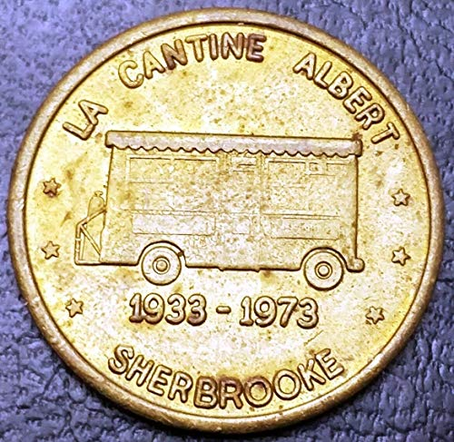 1933 - 1973 La Cantine Albert / Fred Burger Sherbrooke Token - Very SCARCE