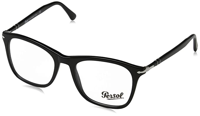 Amazon.com: anteojos Persol PO 3188 V 95 negro: Clothing