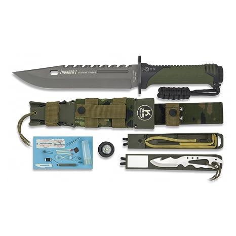 Amazon.com: Thunder I táctica cuchillo de hoja fija, K25 ...