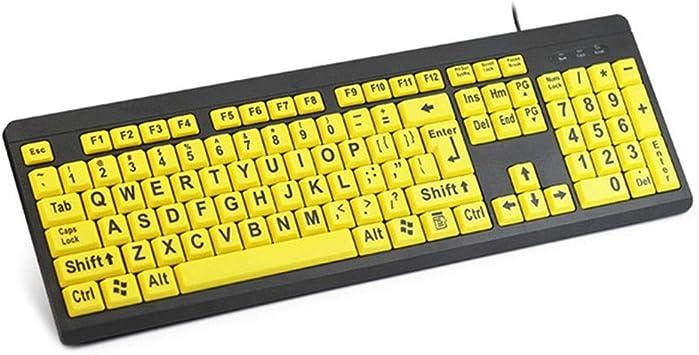 El teclado Con Conexión De Cable: Amazon.es: Electrónica
