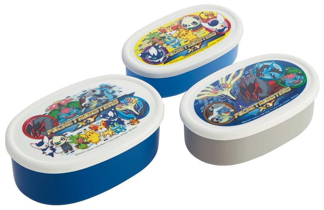 Pokemon XY 15 SRS3S seal food container 3P set