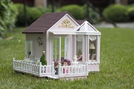 Casa delle bambole in legno kit per modellismo casa in