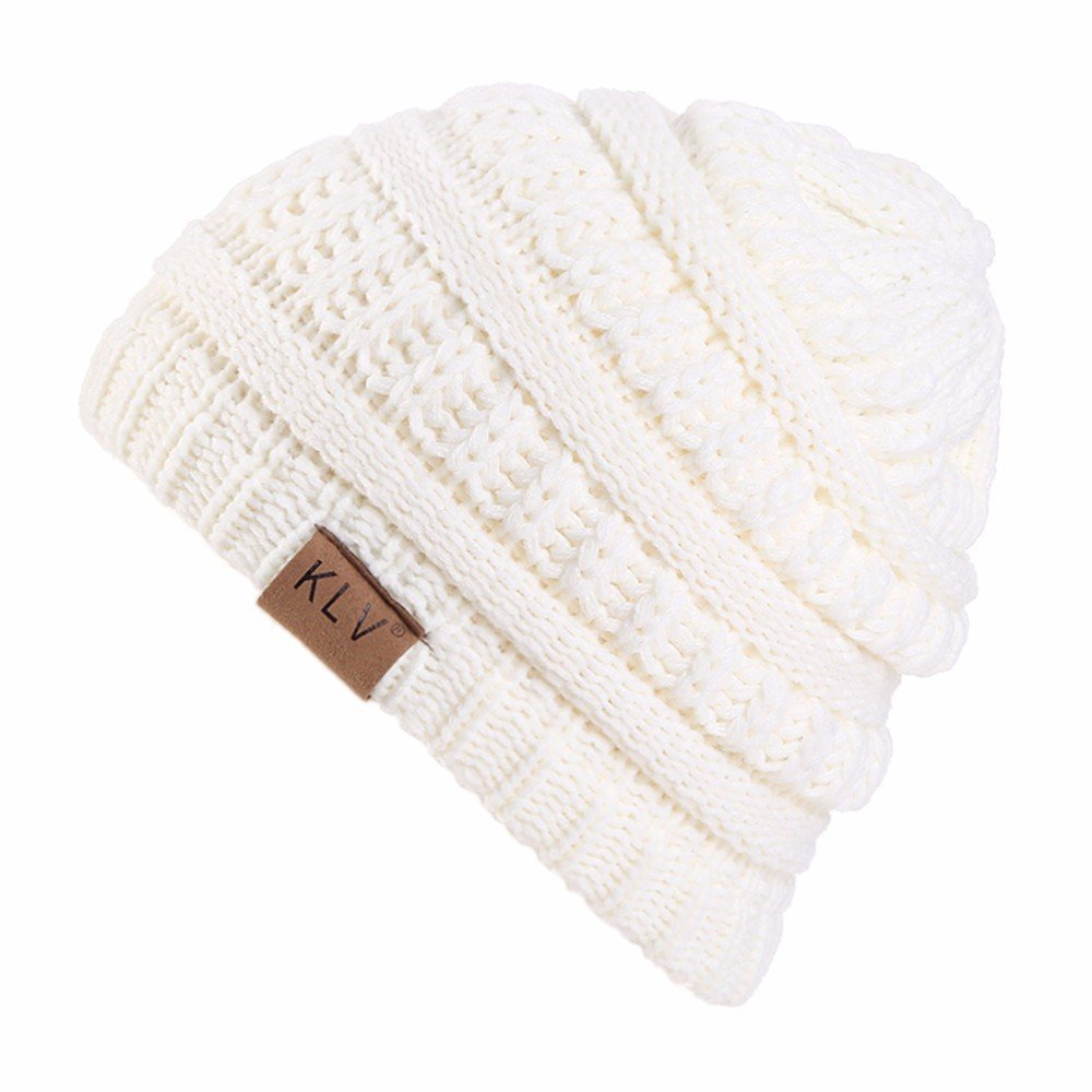 Vovotrade Hat Boy Warm Warm Knit Winter Wool Ski Beanie Skull ...