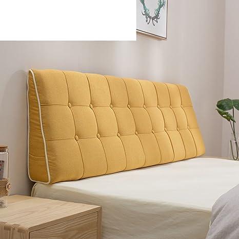 Amazon.com: WST - Funda de almohada de tela de color puro ...