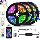 39.42ft LED Strip Lights, QZYL Lights Strip Music