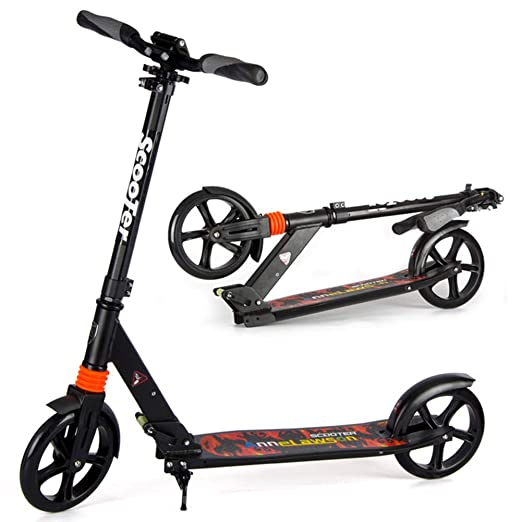 Patinete Adulto, Big Wheels Kick Scooter para Adolescentes ...