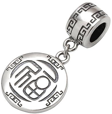 ALOV Jewelry Fu China chinesische Zeichen für Glück Luck \