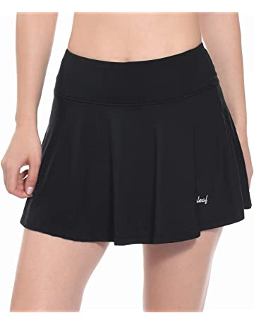 promo code 15ac6 bcc3f Baleaf Women s Athletic Pleated Tennis Golf Skirt with Pockets