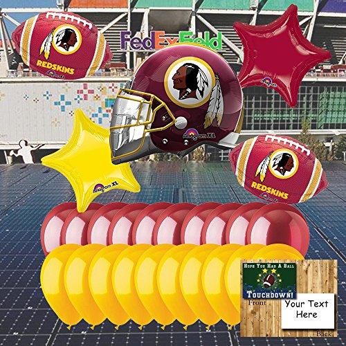 (Anagram Washington Redskins Balloon Set)