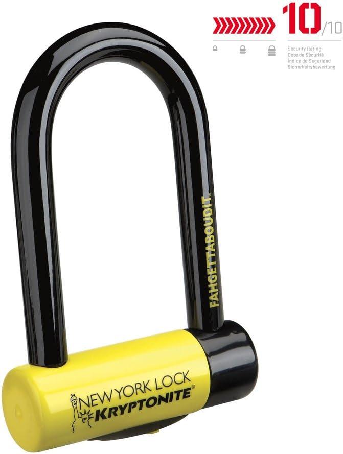 Kryptonite New York Lock Fahgettaboutit Mini 18mm U-Lock Bicycle Lock