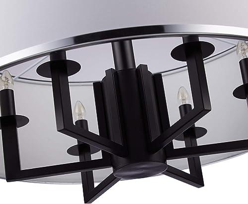 Loclgpm Modern Drum Chandelier Light