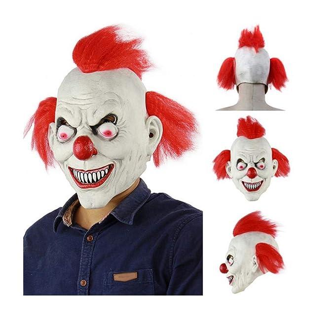 Amazon.com: Máscara de Halloween para decoración de horror ...