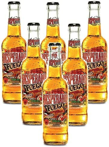 Desperados Fuego Spicy Tequila Beer 6 X 330ml Bottles 5 9 Vol Amazon Co Uk Grocery