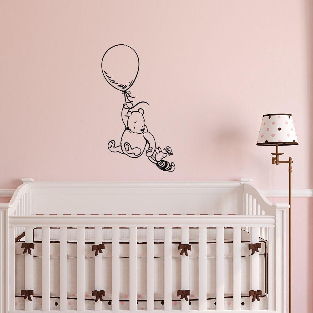 Winnie The Pooh Tiger Piglet Wall Stickers Nursery Mural Kids Bedroom Decal Art