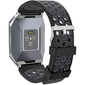 Amazon.com : Fitbit Ionic Watch Bands, Replacement Soft TPU ...