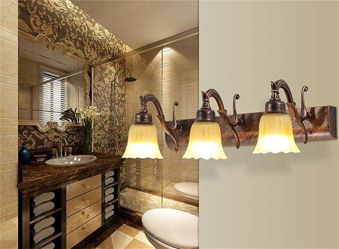 Bagno di illuminazione a led wc lavabo wc bagno luci specchio