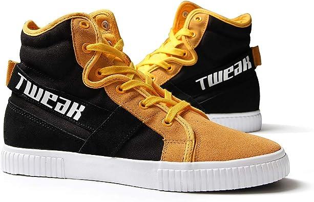 TWEAK Weekender Men/'s High-Top Fashion Suede Leather Canvas Sneaker