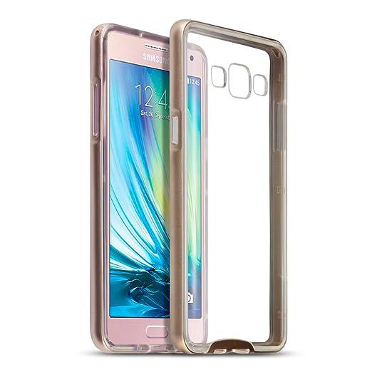 25 opinioni per Terrapin PC Bumper e Cover di TPU Pelle per Samsung Galaxy A5 2015 Custodia,