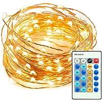 TaoTronics TT-SL036 33' 100 LED String Lights w/Remote Control