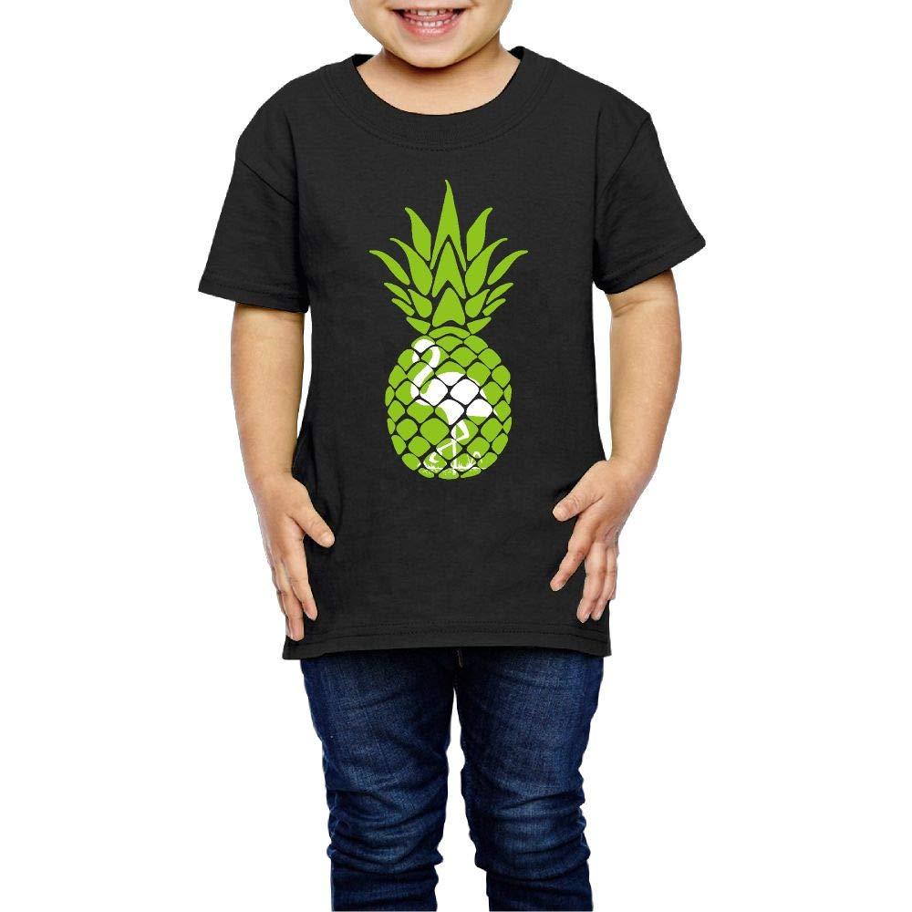 Pineapple /& Flamingo 2-6 Years Old Child Short Sleeve Tshirt