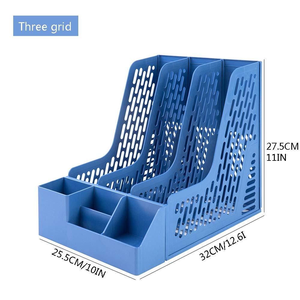 Jenify Desk Organizers Aufbewahrungsbox Multi-Funktions-Office Desk Organizer Organizer Organizer Desktop-Dokumentenbriefkasten-Organizer,Blau,Fourgrids B07K64LZBS    | Grüne, neue Technologie  f2eec2