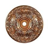 Elk Lighting Pennington 36'' Medallion Ceiling Canopy in Antique Bronze