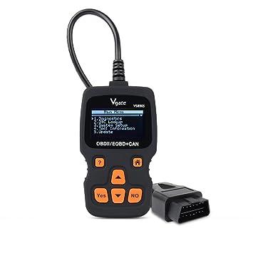 Vgate OBD2 Scanner Code Reader Diagnostic Tools Scanner Code Reader Reset  Engine Light (VS890s)