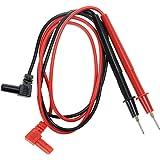 YXQ Banana Plug Multimeter Probe Pen Testing Connecting Cable Stick 2.6Ft 1000V Black Red Pair for Digital Multimeter Meter M