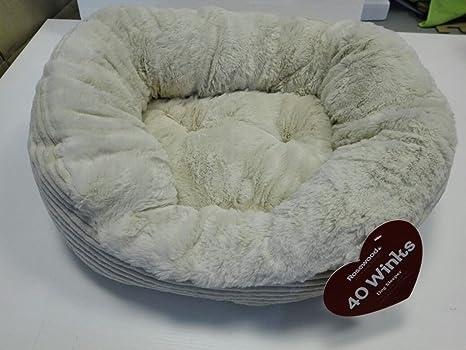 Top SHOP Caseta para perros roseewood 40 Winks Dog Sleeper Color Crema