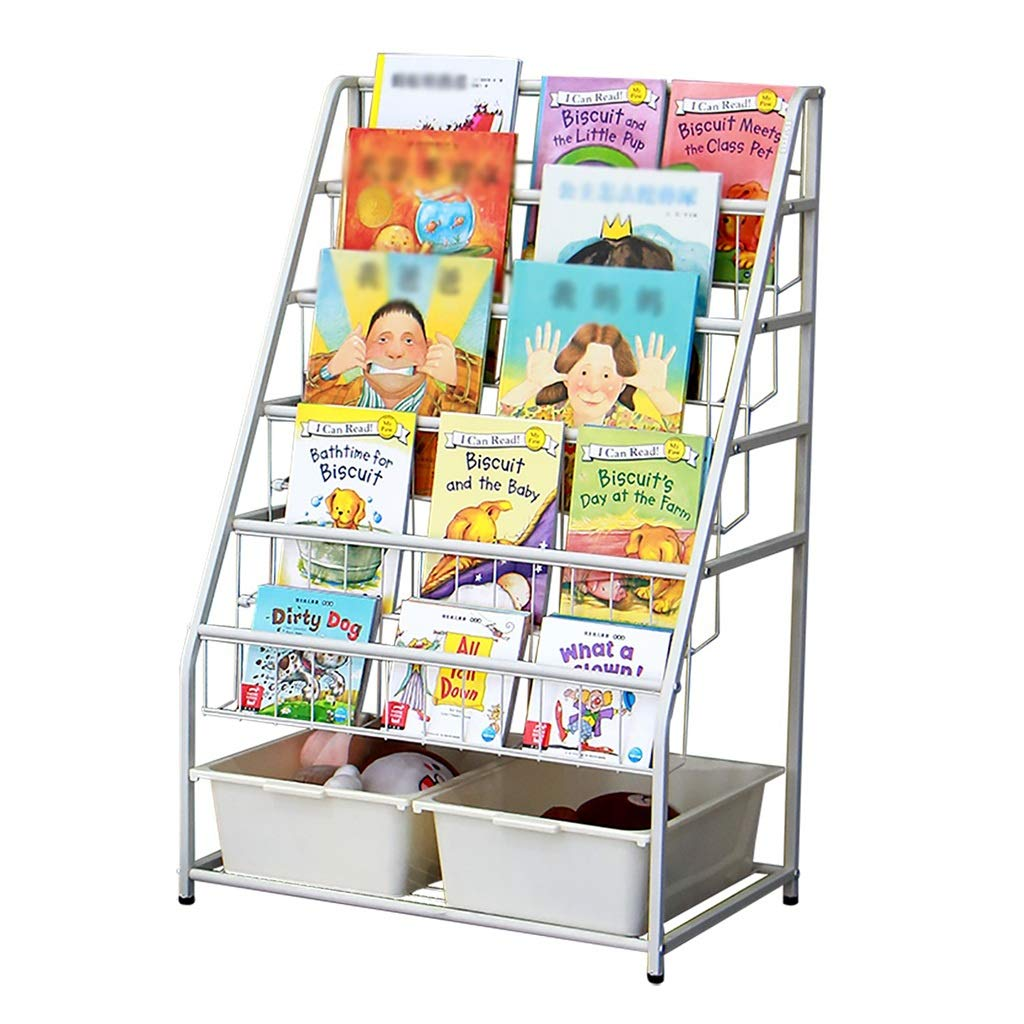GWXJZ Estanterías para CD DVD Estantes para niños Arte de ...